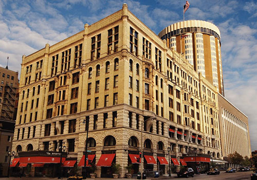 Pfister Hotel, Haunted places in Wisconsin