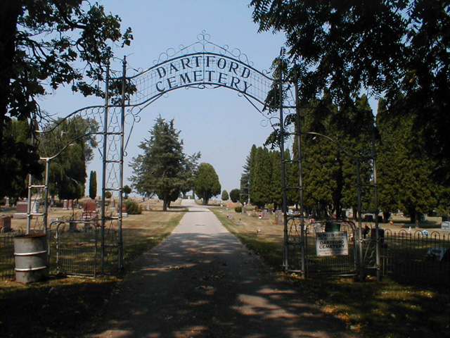Dartford Cemetery, Haunted place in Wisconsin
