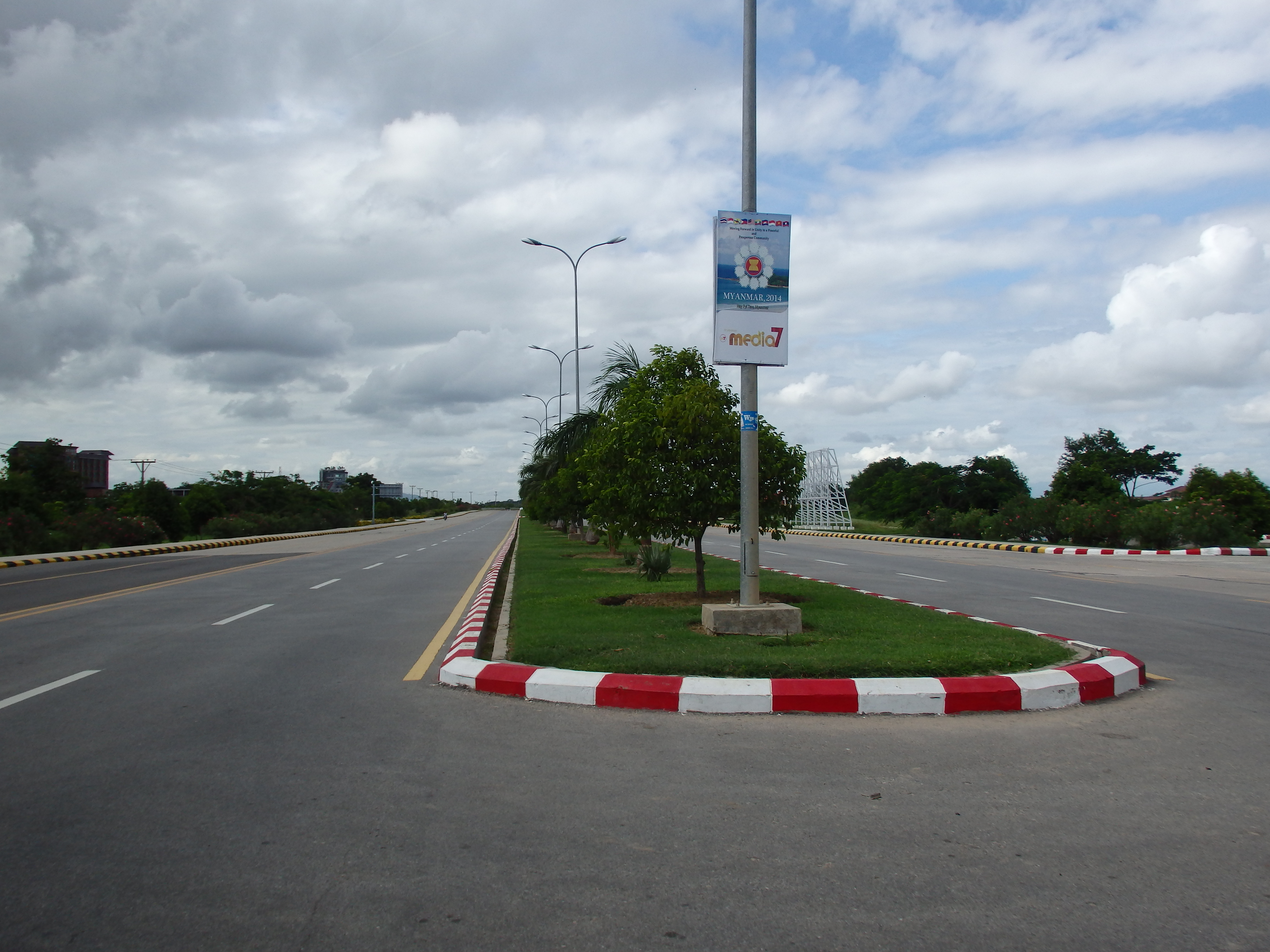 road, post, naypyidaw