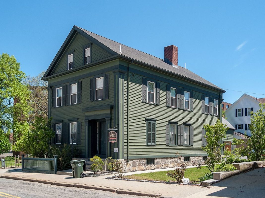 house, lizzie borden house