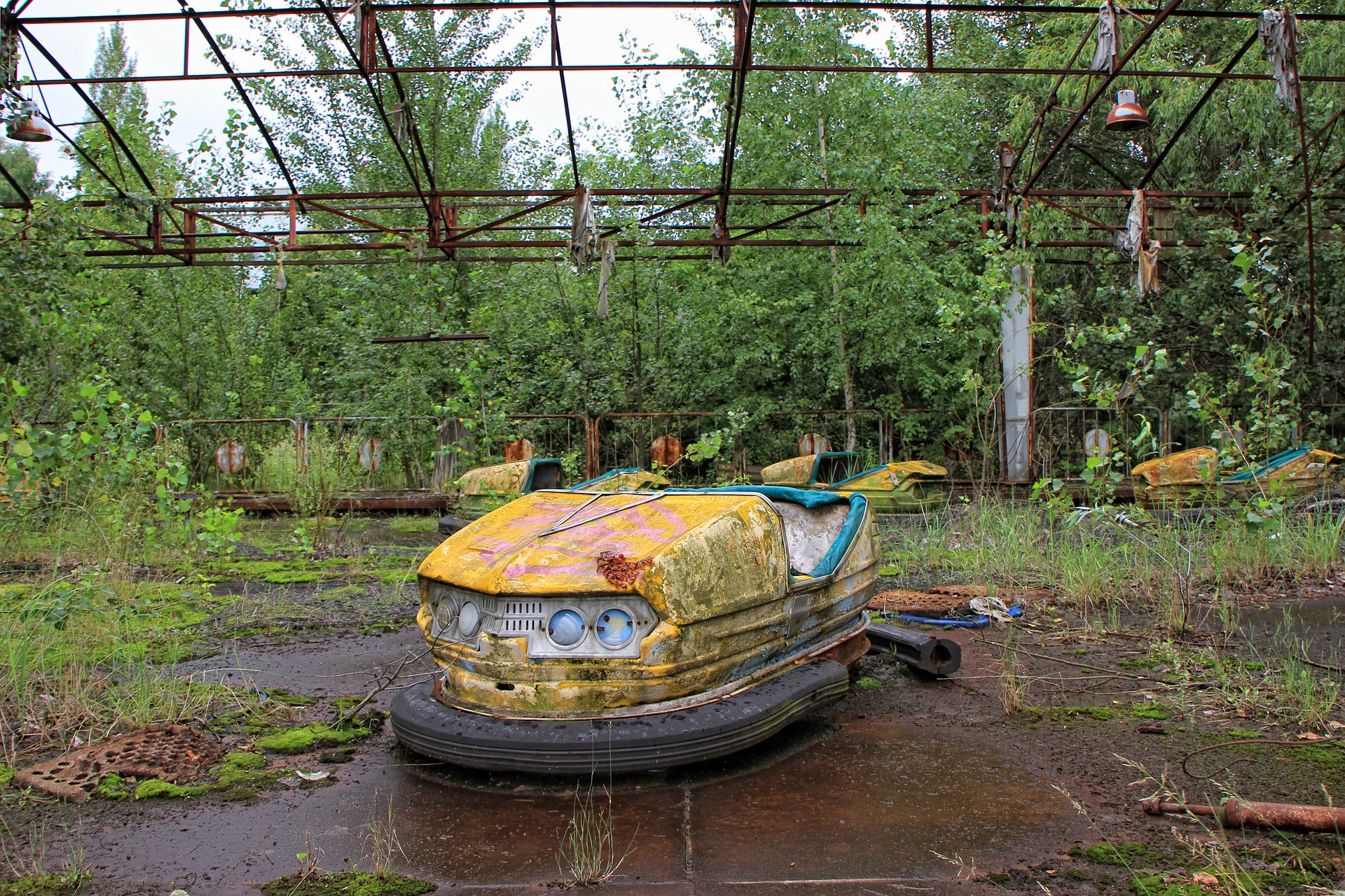 Top 10 Creepiest Abandoned Theme Parks In The World