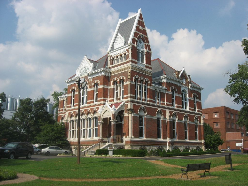 Willard Library, Haunted place in Indiana