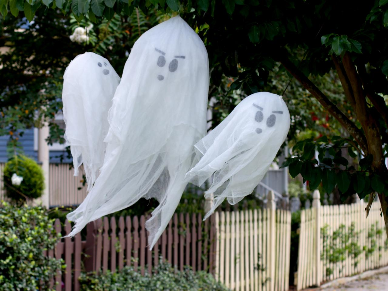 ghost, halloween decorations