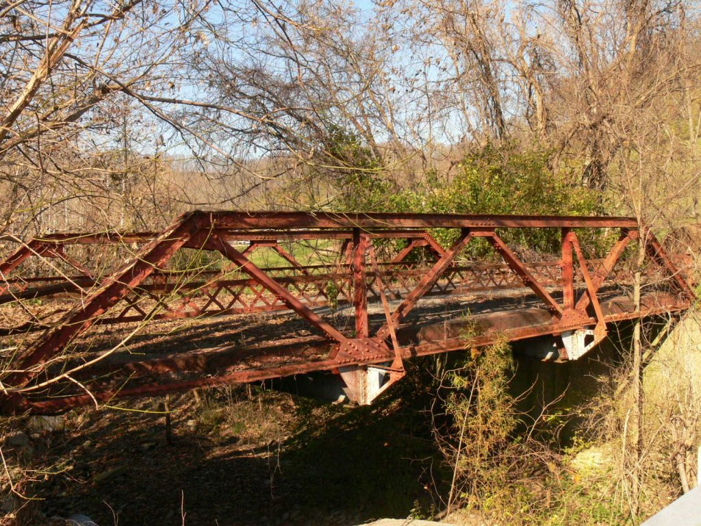 Laughery Creek Road Bridge, Haunted place in Indiana