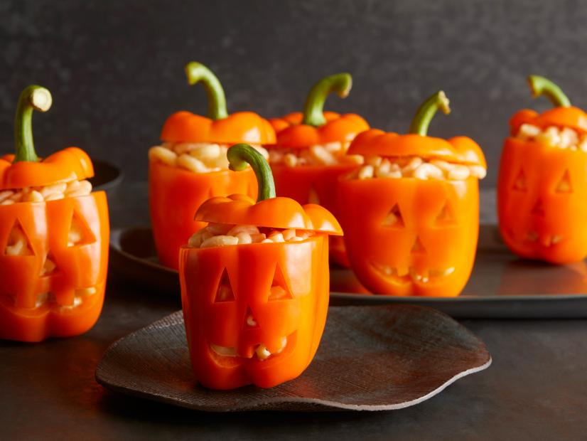 bell peppers, halloween food