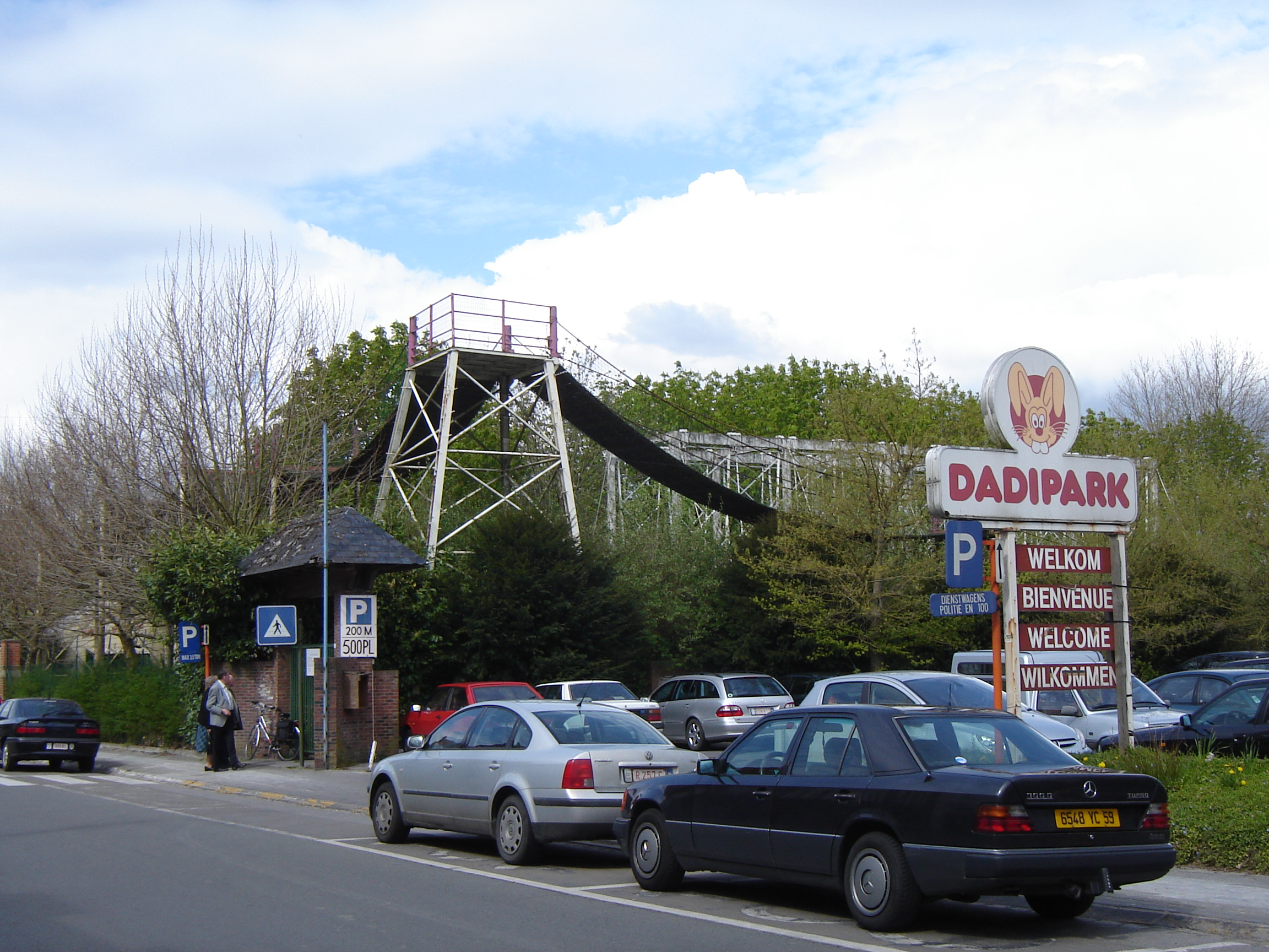 Dadipark when it was still functional