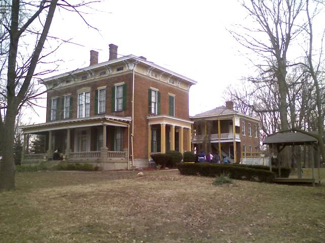 Historic Hannah House, Haunted place in Indiana
