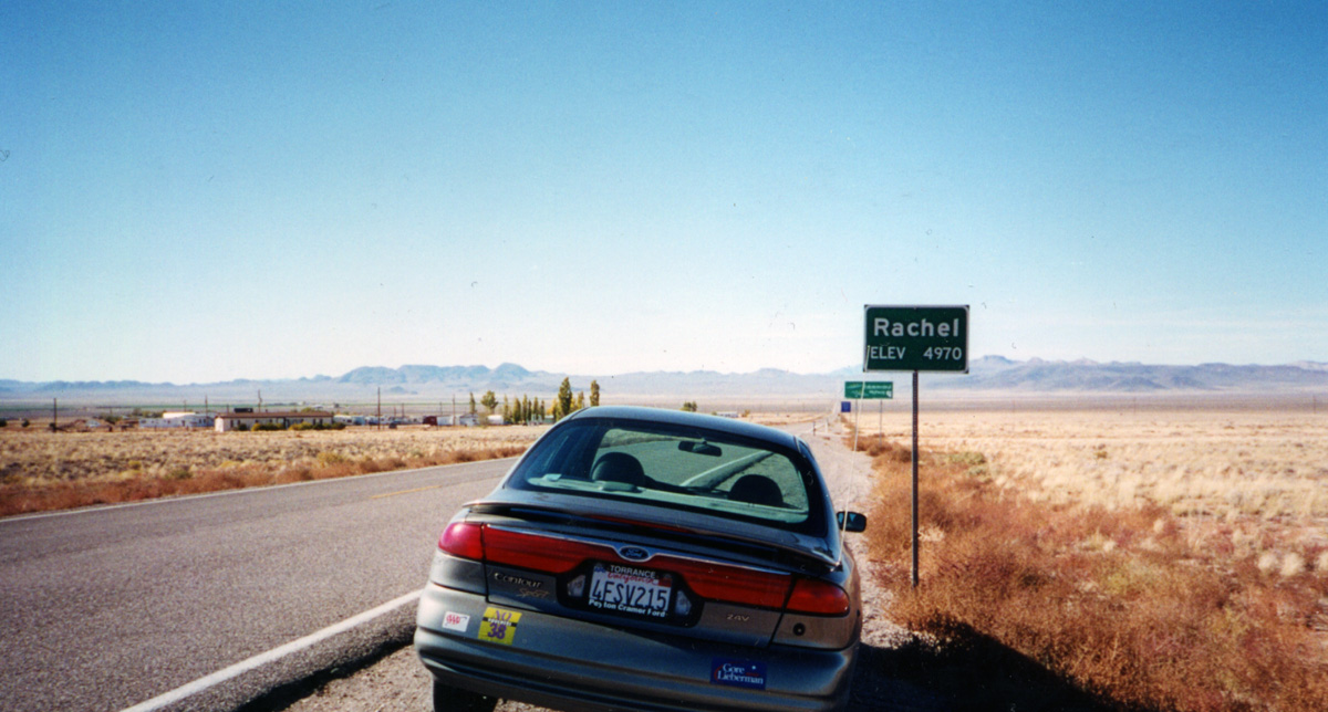car, road, area 51