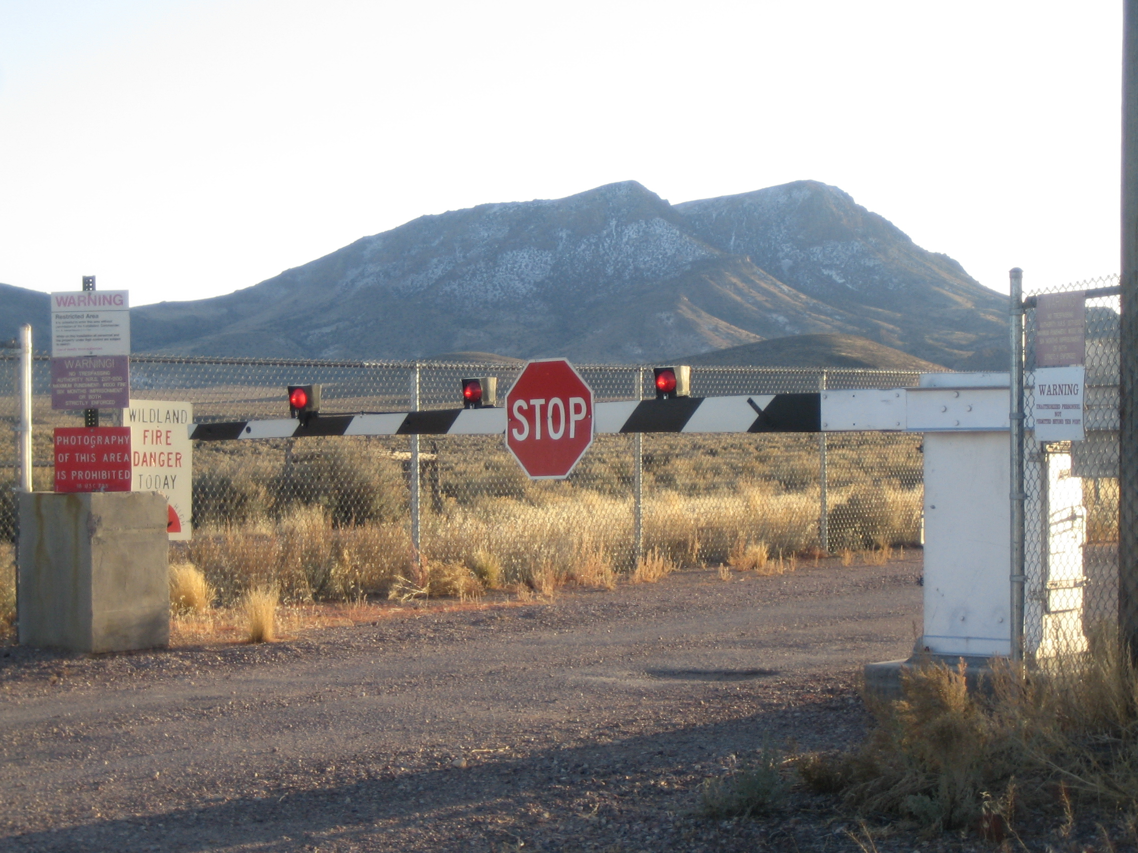 checkpoint, area 51