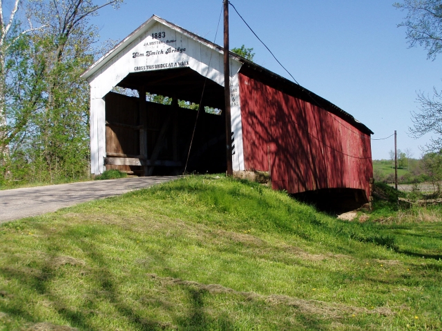 Sims Smith Bridge, Haunted place in Indiana
