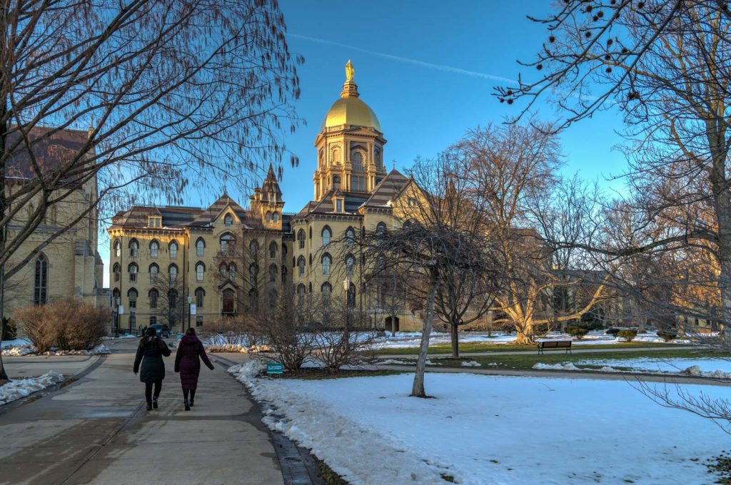 University of Notre Dame, Haunted place in Indiiana