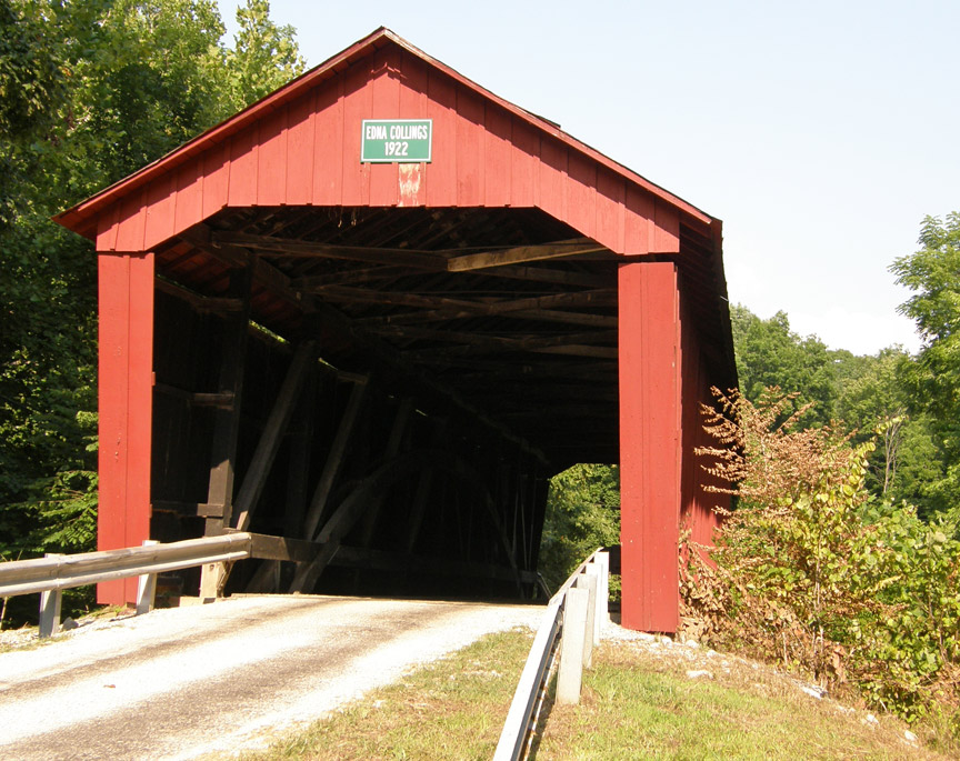 Edna Collins Bridge, Haunted place in Indiana