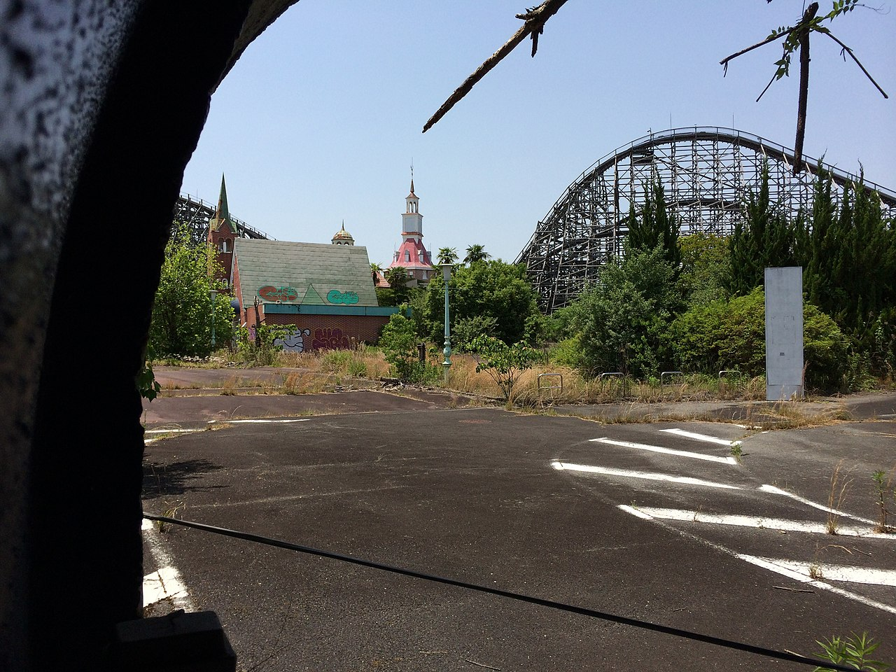 amusement park, nara dreamland