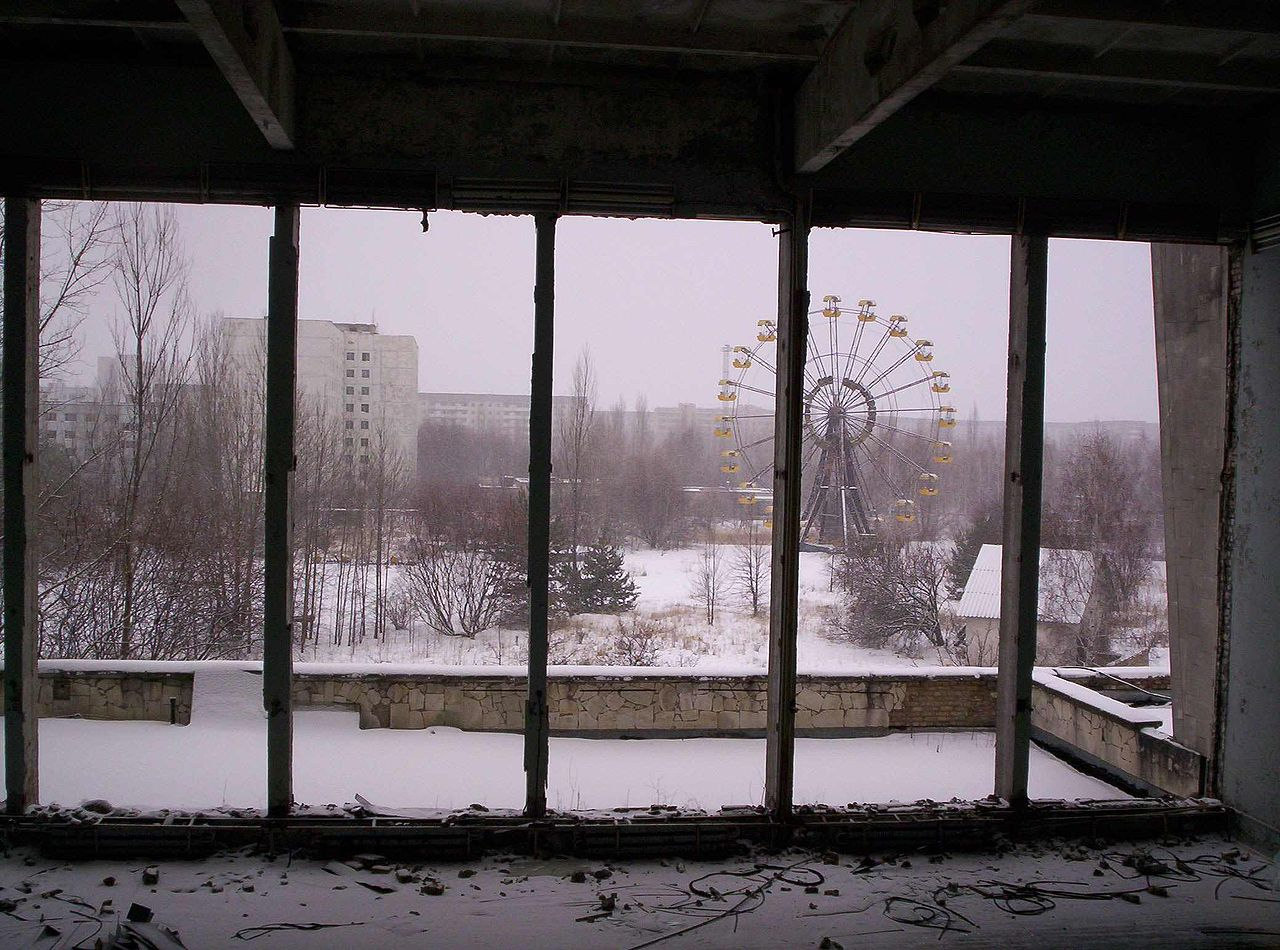 pripyat, abandoned places